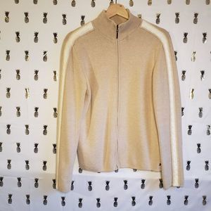 Womens Tommy Hilfiger Zip Large Sweater